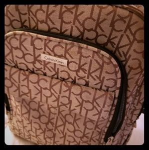 Calvin klein large backpack w/ many pockets